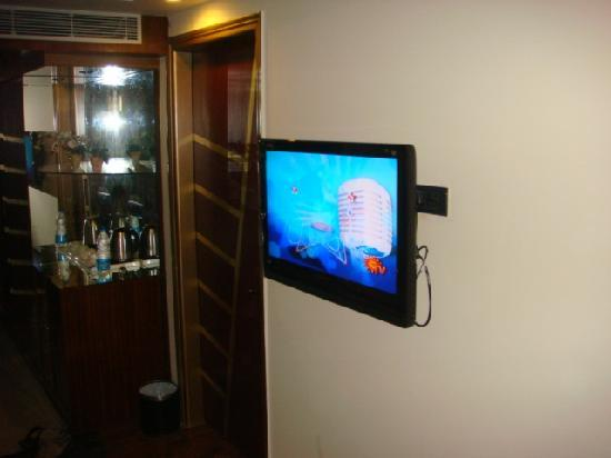Treebo Aura De Asia: nice LCD tv in every rooms