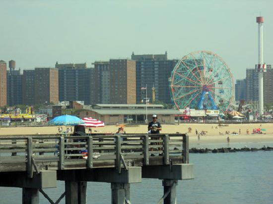 Coney Island USA: Vista di Coney Island