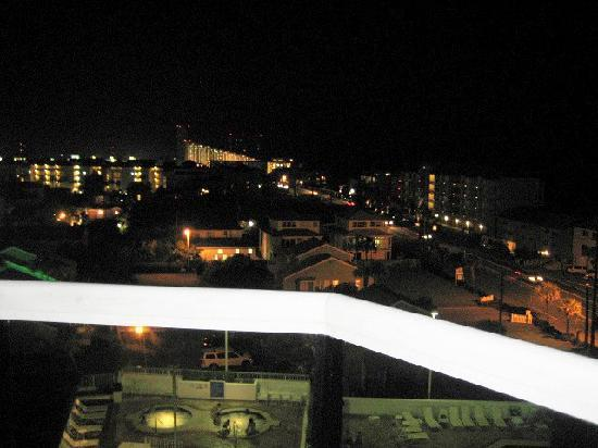 Night View from Balcony Surfside Resort #603
