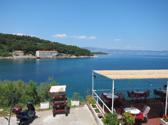 Paradiso Restaurant: the view
