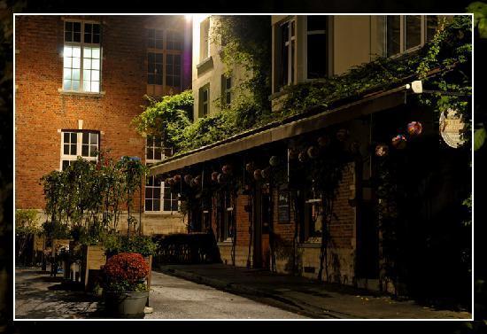 De Werf : Terrace at Night