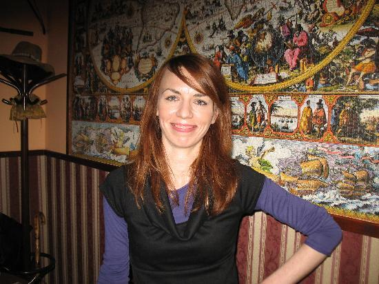 Globtroter Guest House: Aneta was always smiling and helpful