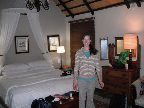 andBeyond Ngala Safari Lodge: In our lovely room
