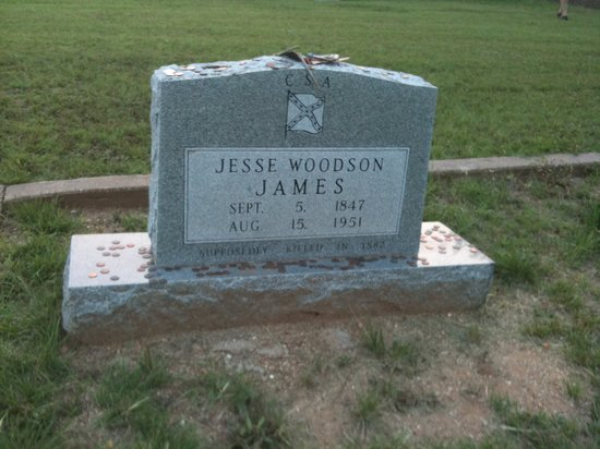 Jesse James Grave Site - Granbury Cemetery