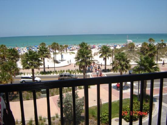 Seaside Inn & Suites: from the balcony