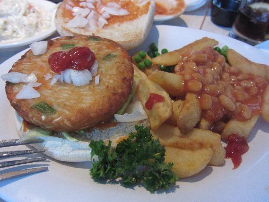 Damons: Bad Veggie Burger