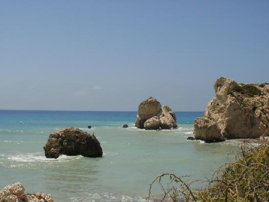 Paphos, Cyprus: scoglio di afrodite