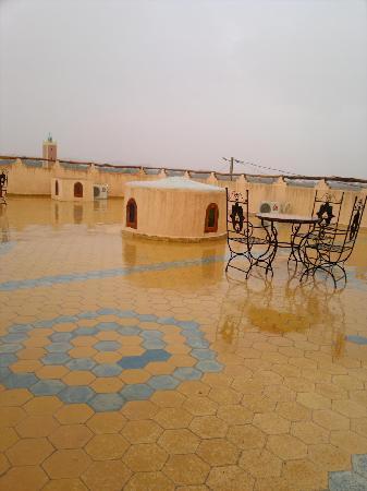 Riad Aicha: Terraza