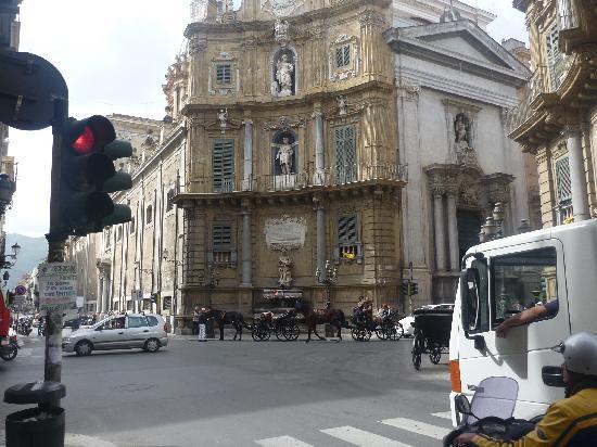 Palerme, Italie : place