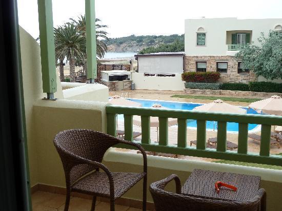 Finikas Hotel: Balcony