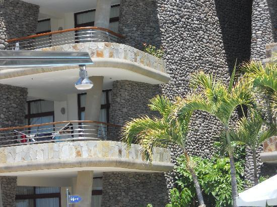 Club Monte Anfi: Our large corner balcony