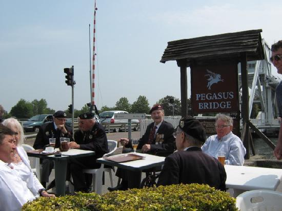 D Day Landing Tours: Pegasus Bridge where 6th Airbourne over run with in 15 minutes of landing.