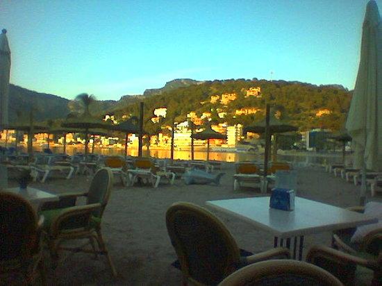 Cafe bar Es Reco: Am Strand