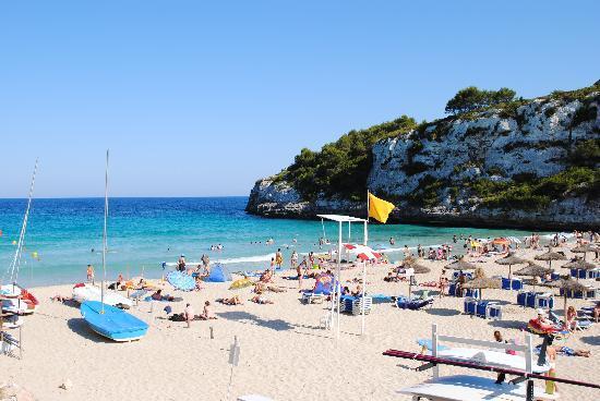 2 Spiaggia Bild Von Blau Punta Reina Resort Cala Mandia Tripadvisor