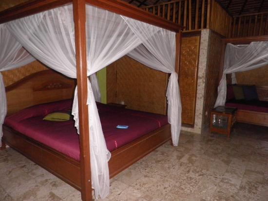 Guci Guesthouses: Dormitorio de casa de 4 personas