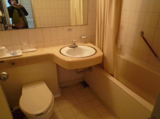 Hotel Crystal: 洋式部屋のバスルーム
