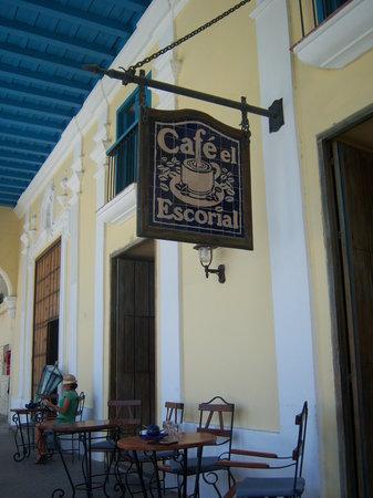 Cafe El Escorial: best coffee in Havana