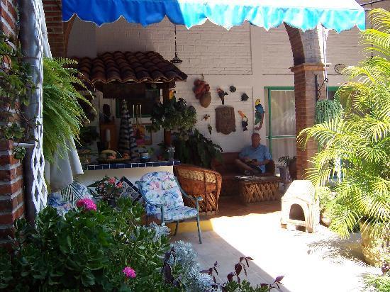 Villa Eucaliptos B & B: My Husband's favorite spot!