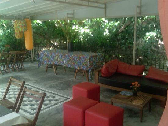 Villa Laurinda: The breakfast area
