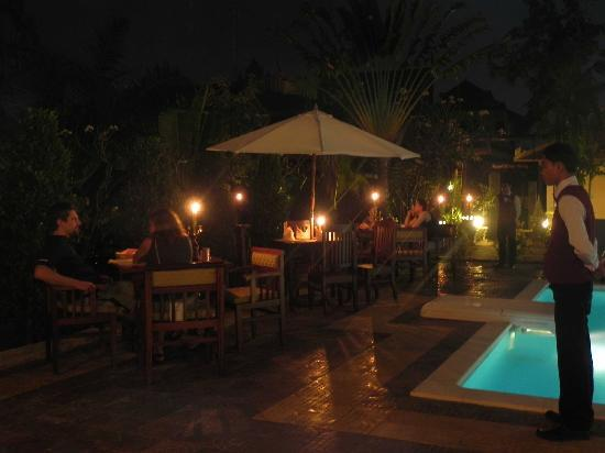‪‪La Tradition D'Angkor Boutique Resort‬: Romantic dinner with personal service‬