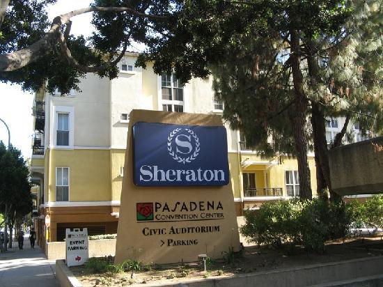 Sheraton Pasadena - next to Pasadena Auditorium