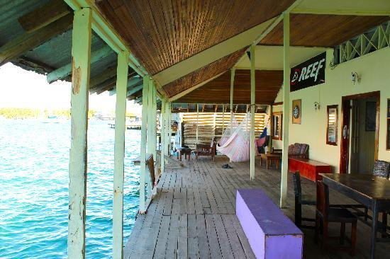 Hotel Las Brisas: The dock...the best part of the Hotel