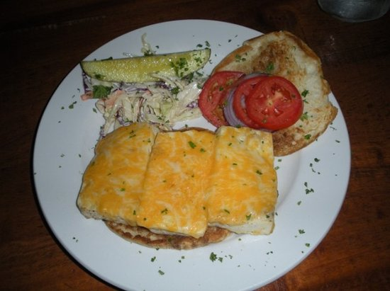Lost & Found Saloon : Chipotle Tofu Melt (YUM!)