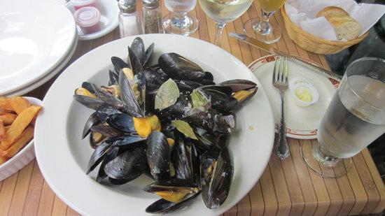 Le Vendome: wonderful mussels