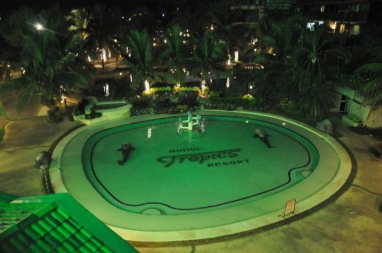 Bohol Tropics Resort: Pool View