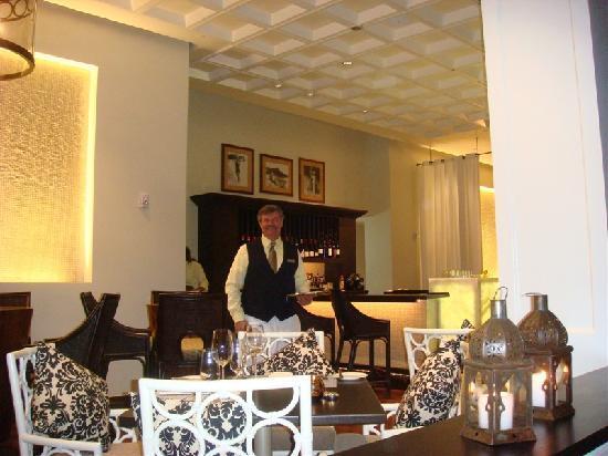 Azure Restaurant: small bar area