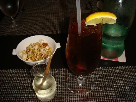 Azure Restaurant: my ice tea