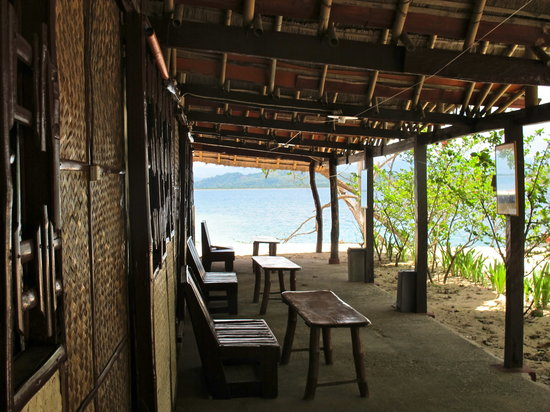 Pandan Island Resort: chambres éco avec sdb communes