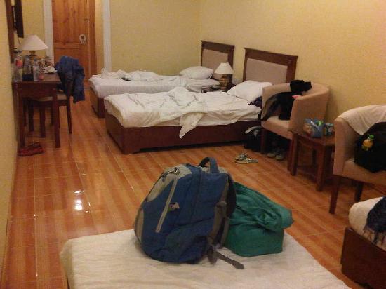 Ocean Valley Hotel : look at the floor