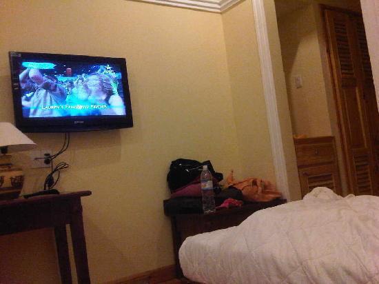 Ocean Valley Hotel : lcd tv