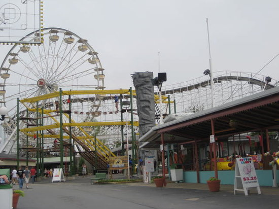 Indiana Beach Amusement & Waterpark : Boardwalk