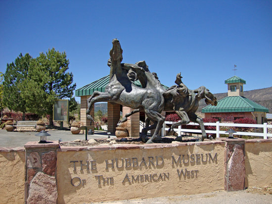 Ruidoso Downs, NM: Entrance to Hubbard Museum