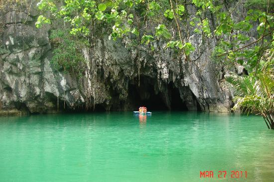 Sabang, Filippine: underground river tour