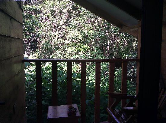 Nidia Lodge: Balcony