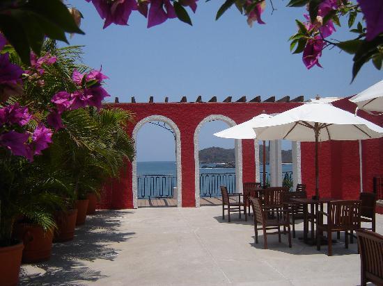 Club Med Ixtapa Pacific: l'entrée du club
