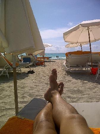 Shore Club South Beach: Beach Access and Services