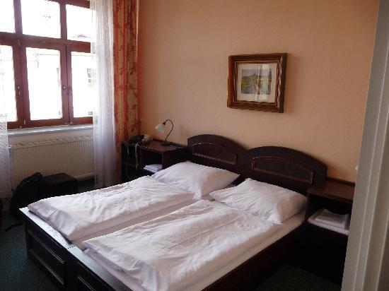 Zlata Hvezda Hotel Litomysl: bed
