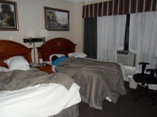 Heritage Hotel New York City: Two teenagers beds
