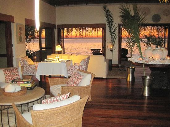 Benguerra Island, Mozambique: Reception area/lounge