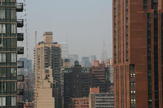 The Marmara Manhattan: View from the balcony