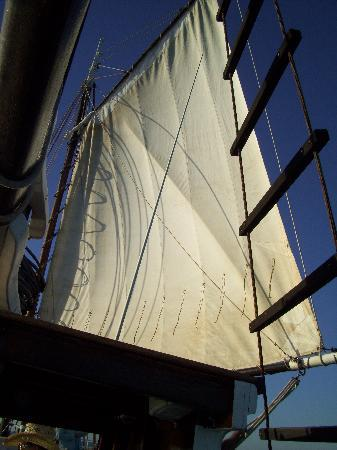 Intombi Pearl Lugger Cruise: Sails of Intombi