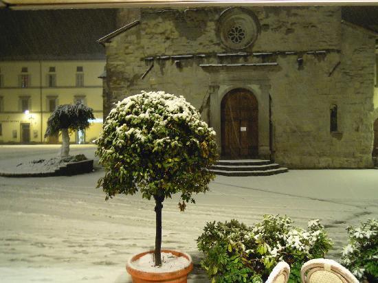 Grand Hotel Terme Roseo: vista dall'interno