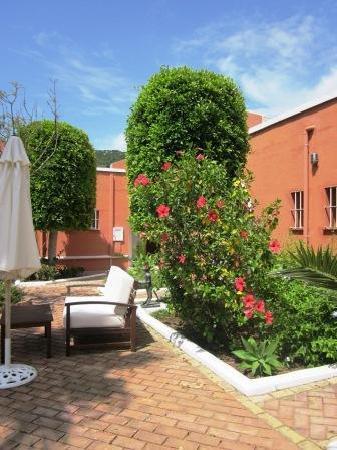 Hotel Madreselva: Common area between the rooms