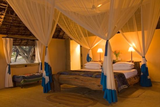Barefoot luxury - the rooms at Manda Bay