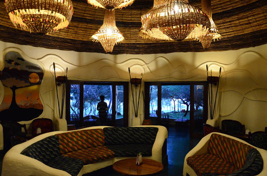 Lake Manyara Serena Lodge: The Lounge Room