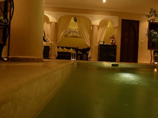 Riad Al Badia: The pool from the pool